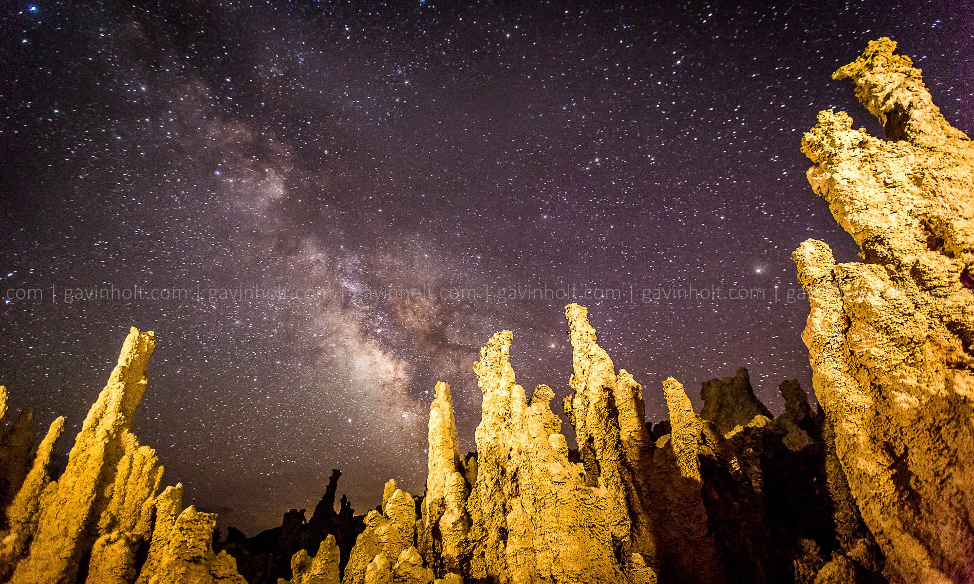 Astrophotography at Mono Lake